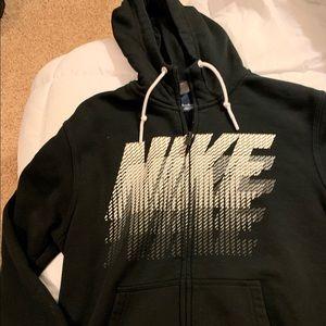 Men's Nike zip up hoodie. Like new medium black